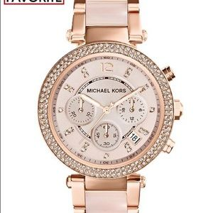Michael Kors Accessories - Michael Kors Ladies' Parker Rose Gold-Tone Watch